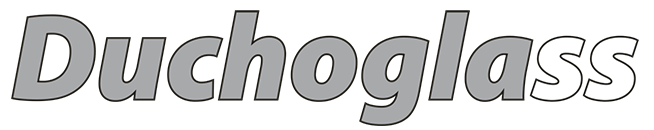 Logo de la marca propia de vidrio Duchoglass