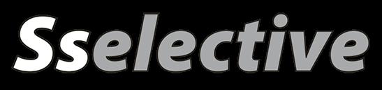 Logo de la marca propia de vidrio Sselective
