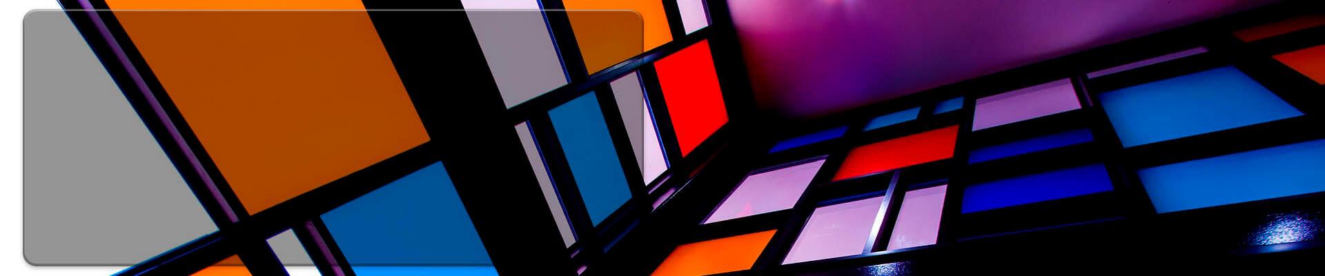 Slide de vidrio laminado decorativo Decorss