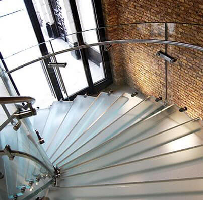 Pisaglass: Suelos de vidrio pisable